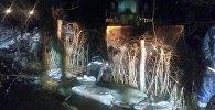 Чаткалда арыктардан ашкан суулар үйлөрдү каптады