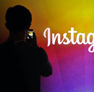 Лого Instagram. Архивное фото