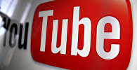 Логотип сайта YouTube. Архивное фото