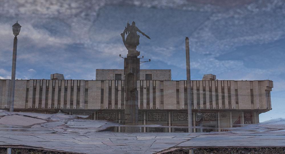 Здание филармонии в Бишкеке. Архивное фото
