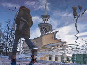 Последствия обильного дождя в декабре в Бишкеке