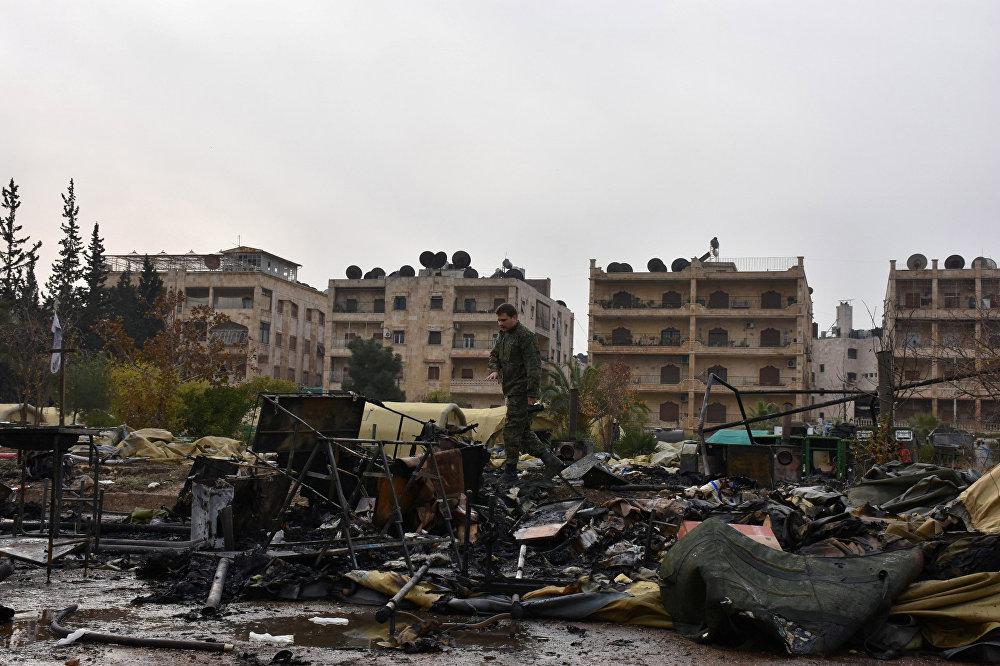 Сирия оппозициясынын согушкерлери Россиянын Алепподогу аскердик госпиталына сокку урду. Дарыгерлердин экөө каза болуп, дагы бири жаракат алган