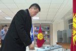 Премьера проверили на наличие биометрики, он проголосовал на выборах
