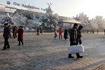 Задержание 11 авиарейсов в аэропорту Оша