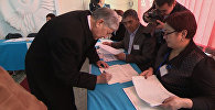 Шайлоо жана Өзбекстан менен болгон мамиле: Атамбаевдин маалымат жыйында айткандары