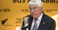 Заместитель председателя по международным делам Государственной Думы РФ, наблюдатель от МПА Алексей Чепа на радио Sputnik Кыргызстан. Архивное фото