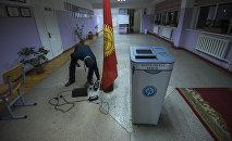 Подготовка к выборам в местные кенеши. Архивное фото