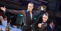Танцоры Артем Семеренко и Валерия Качалко. Архивное фото