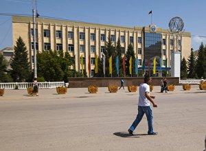 Город Нарын. Архивное фото