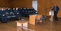 На авиационной базе ОДКБ Кант прошла встреча военнослужащих с представителями регионального представительства Российской газеты в Кыргызстане