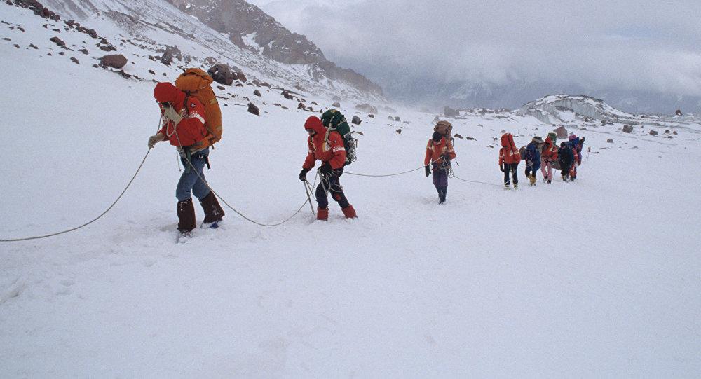 Альпинисты. Архивное фото