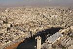Районы вокруг цитадели в Алеппо после освобождения от боевиков. Съемка с дрона