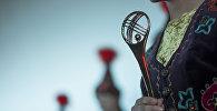 Статуэтка кинофестиваля Кыргызстан — страна короткометражных фильмов. Архивное фото