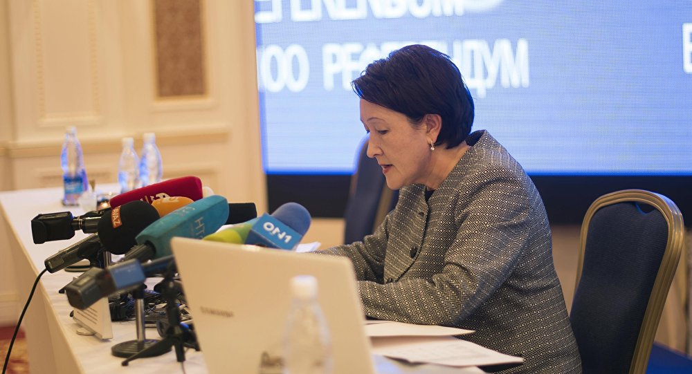 Председатель ЦИК Нуржан Шайлдабекова