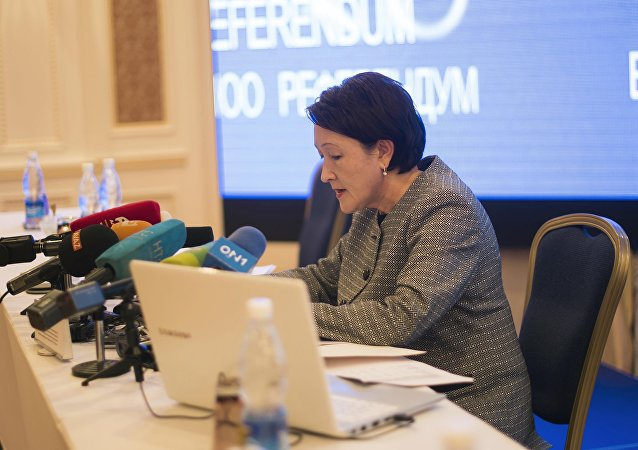 Председатель ЦИК Нуржан Шайлдабекова. Архивное фото