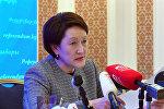 Глава ЦИК рассказала о выборе бишкекчан и испорченных бюллетенях