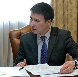 Архивное фото председателя правления ОАО Национальная энергетическая холдинговая компания Айбека Калиева