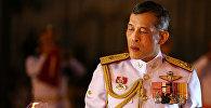 Король Таиланда Маха Ватчиралонгкон Бодинтхаратхеппхаяварангкун во время траура своего отца, покойного короля Пумипона Адульядета в Бангкоке, Таиланд. 23 октября, 2016 года