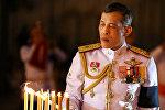 Таиланд королу Маха Ватчиралонгкон Бодинтхаратхеппхаяварангкун. Архивдик сүрөт