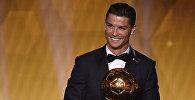 Реал Мадрид менен Португалия курама тобунун футболчусу Криштиану Роналду. Архив