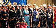 Кыргызстандагы элдик таланттар Эл ичи – өнөр кенчи республикалык кароо сынагынын катышуучулары