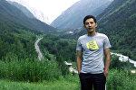 Кыргызстандык дизайнер Талгат Нурдиновдун архивдик сүрөтү