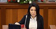 Депутат Элвира Сурабалдиеванын архивдик сүрөтү