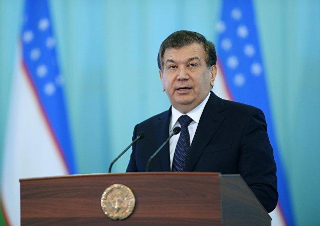 Өзбекстандын президенттигине шайланган Шавкат Мирзиёев. Архив