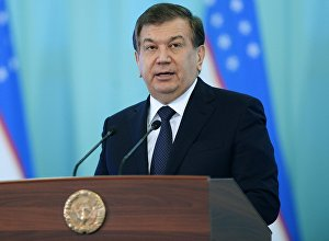 Өзбек президенти Шавкат Мирзиёевдин архивдик сүрөтү