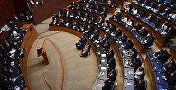 Депутаты на сенате Мексики в Мехико. Архивное фото