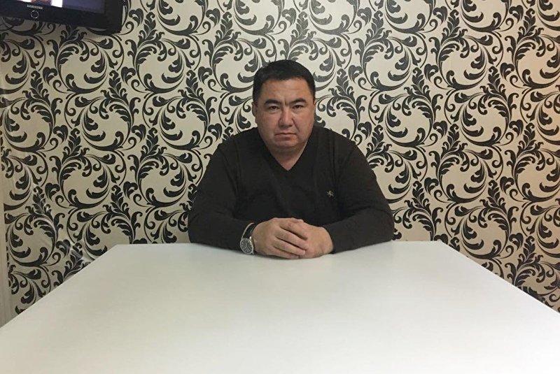 Начальник муниципального предприятия Бишкекасфальтсервис Мирлан Амантуров