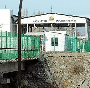 Кыргыз-казак чек арасы. Архивдик сүрөт