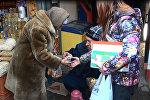 Бишкекте активисттер тарабынан Башка адамдар аталышындагы акция болуп өттү