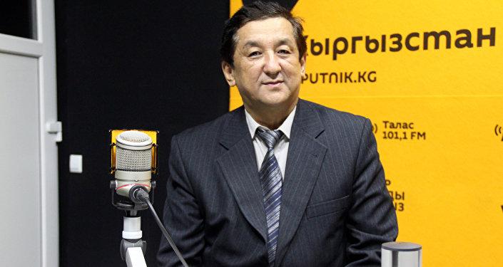Кыргызстанский бортинженер Урустом Жусупбеков
