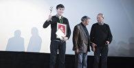 Церемония награждения победителей VI Международного кинофестиваля стран СНГ, Грузии и Балтии Кыргызстан — страна короткометражных фильмов