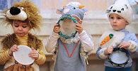 Новогодний утренник в детском доме в Великом Новгороде
