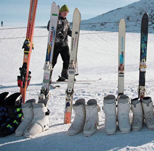 Лыжалар. Архивдик сүрөт