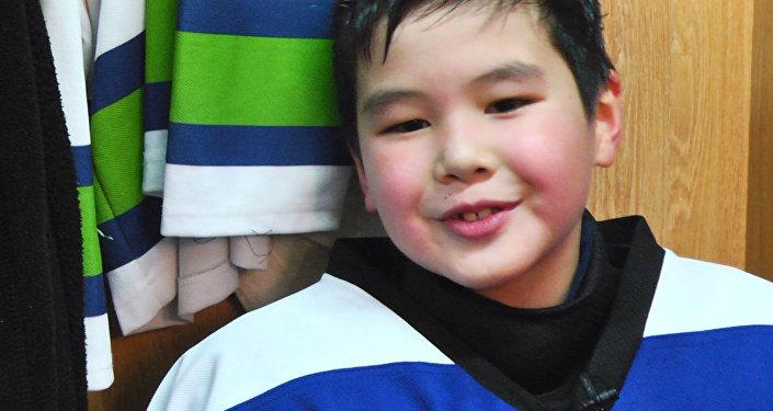 Восьмилетний хоккеист о спорте, тренировке и команде