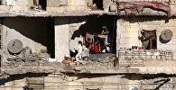 Алепподогу үй-бүлө. Архивдик сүрөт