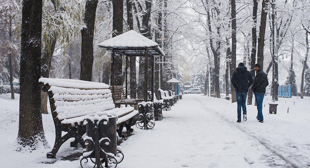 Беседки и скамейки на бульваре Эркиндик. Архивное фото