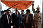 Президент Алмазбек Атамбаевдин Индиягы кылган иш сапары. Архивдик сүрөт