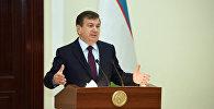 Архивное фото президента Республики Узбекистан Шавката Мирзиёева