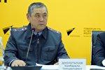 Бишкек ШИИБдин уруксат берүү бөлүмүнүн жетекчиси Камбаралы Дөөлөталиев