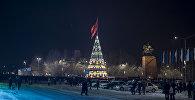 Бишкектеги борбордук Ала-Тоо аянтындагы балатынын архивдик сүрөтү