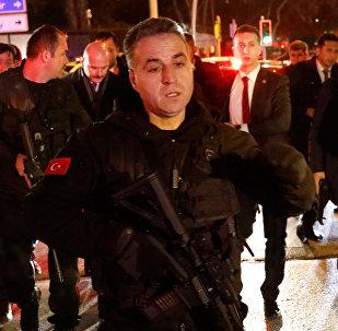 Туркия полициясы Анкарадагы Россиянын элчиси Андрей Карловго куралдуу кол салуу болгон жерде
