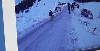Видеоролик под названием Боулинг по дороге к базе. Фото c сайта Youtube  пользователя Владимир Каракол