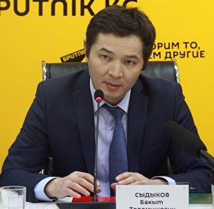 Архивное фото начальника Управления государственного долга министерства финансов Бакыта Сыдыкова