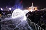 Sputnik 360: зажжение главной елки Кыргызстана