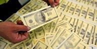 Поддельные доллары. Архивное фото
