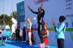Кыргызстанская легкоатлетка, участница Олимпийских игр в Рио-де-Жанейро Дарья Маслова завоевала серебро на международном марафоне в честь 15-летия Шанхайской организации сотрудничества (ШОС)